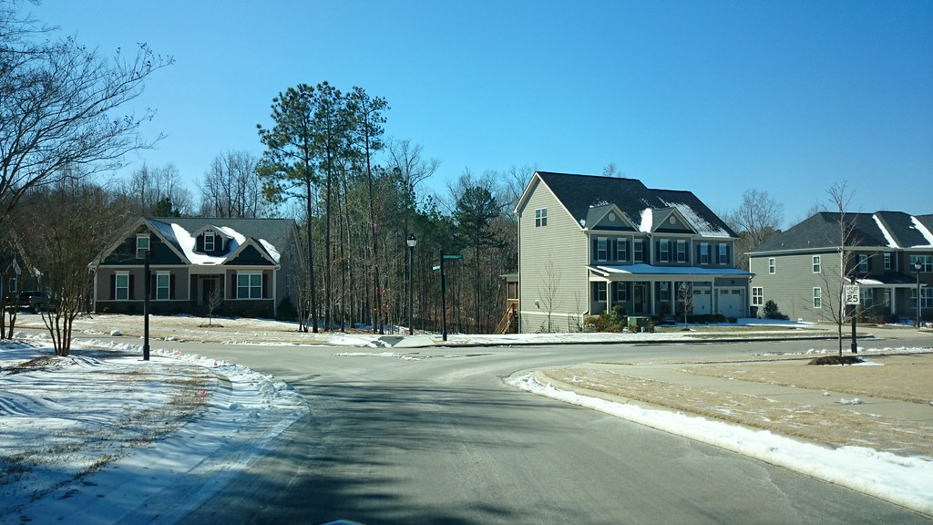Recent sprawl in Cary NC